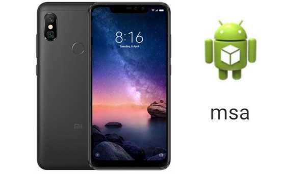 Fungsi aplikasi MSA di HP Xiaomi
