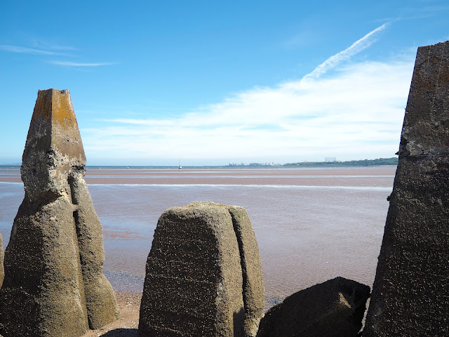 Cramond Island, Edinburgh, Scotland