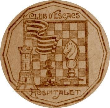 Emblema del Club d'Escacs Hospitalet