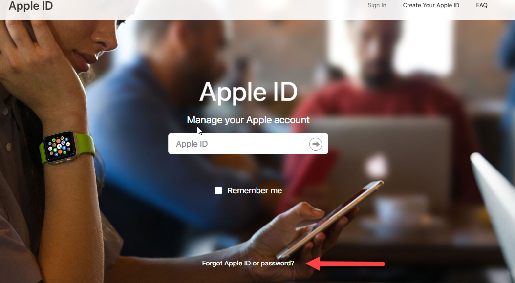 how to create apple id password