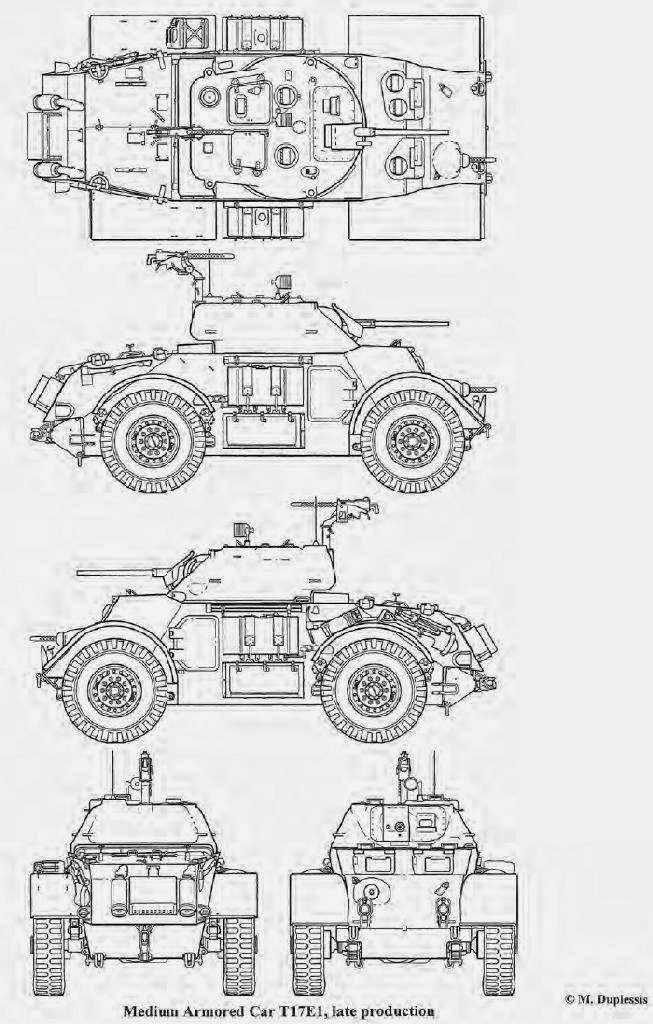 Allied Tanks and Combat Vehicles of World War II: Staghound