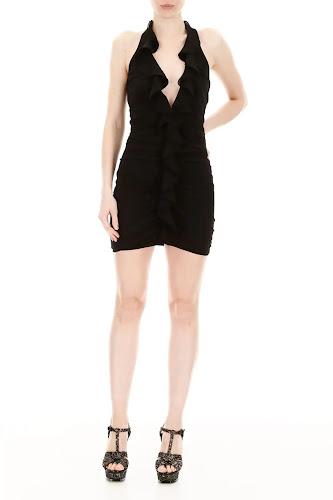 Saint Laurent - V-Neck Dress - RMNOnline Fashion Group
