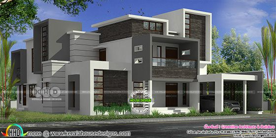 Contemporary 4 bedroom home