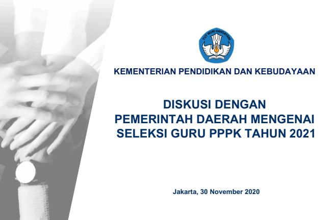 Dskusi Kemdikbud dan Pemda tentang PPPK