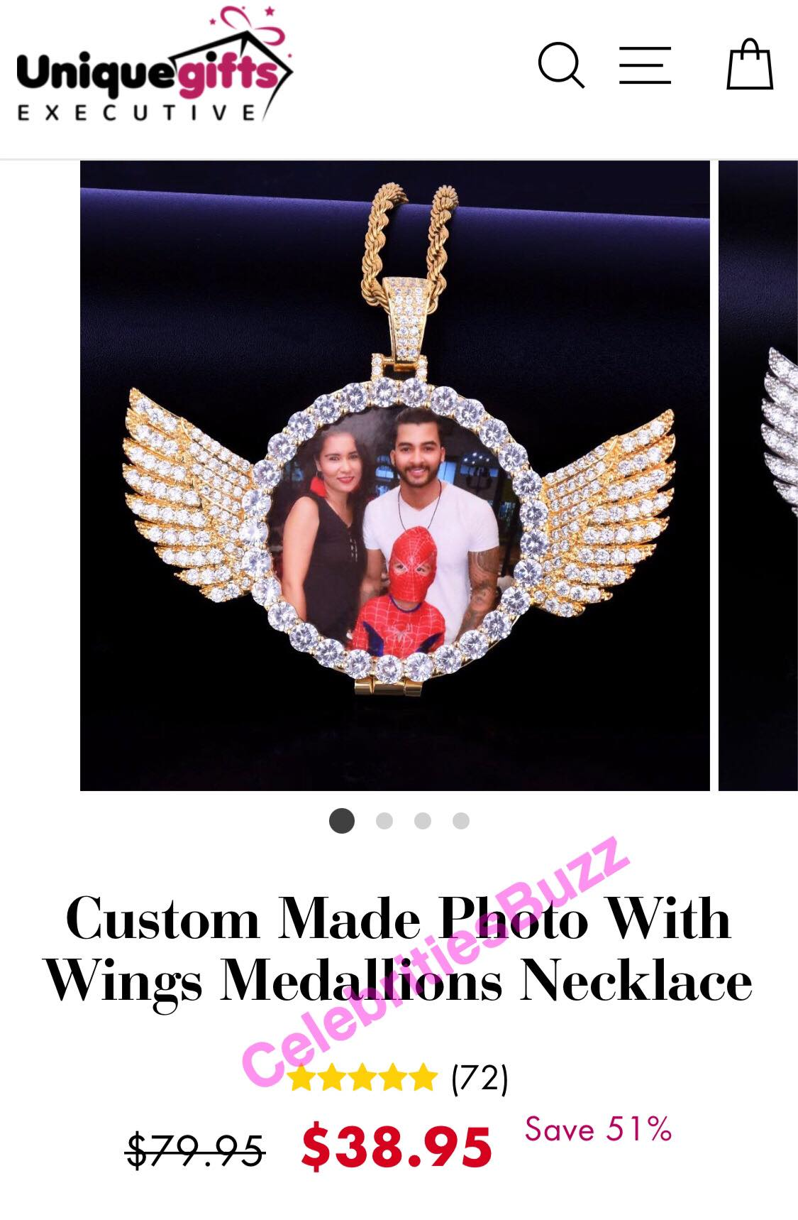 Medikal's customised necklace of Criss Waddle costs Ghc224 only