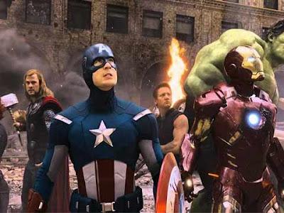 Una scena dal film Marvel ''Avengers''