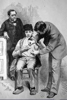 Ludwik Pasteur - szczepionka na wściekliznę