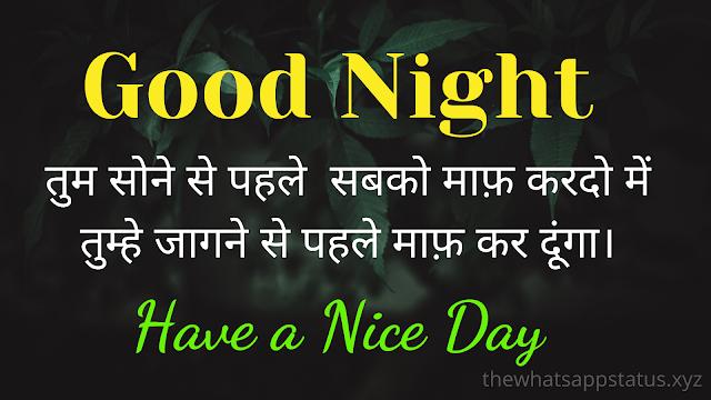 Best Good Night Shayari in hindi (6)