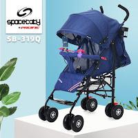 kereta dorong bayi spacebaby sb319q buggy baby stroller