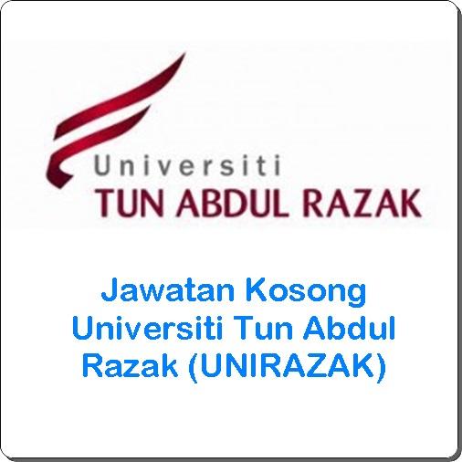 jawatan kosong unirazak 2016, jawatan kosong Universiti Tun Abdul Razak (UNIRAZAK) terkini, cara memohon kerja kosong Universiti Tun Abdul Razak 2016