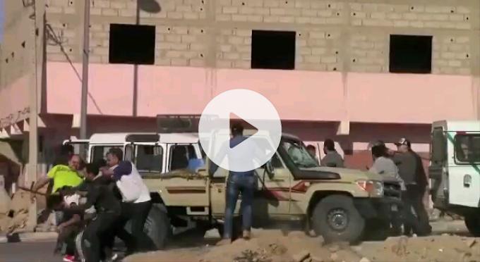 (VÍDEO). Intervención brutal de las fuerzas de ocupación marroquíes contra manifestantes saharauis