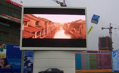 Thi công màn hình led p2 ngoài trời tại quận 12