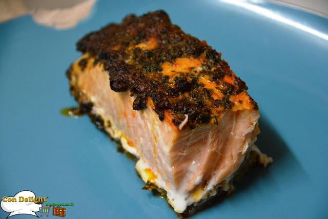 סלמון עסיסי בפפריקה juicy paprika salmon