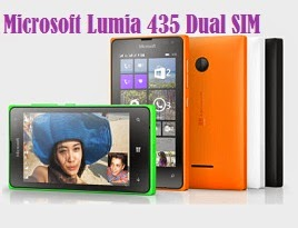 New Launch: Microsoft Lumia 435 Dual SIM  worth Rs.6499 for Rs.4640 @ ebay (Cheapest Phone in Lumia Series)