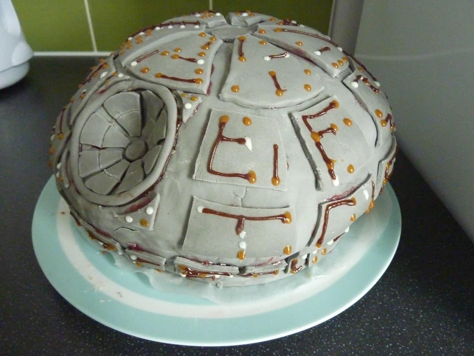Einenachteulereist Death Star Cake Todesstern Kuchen