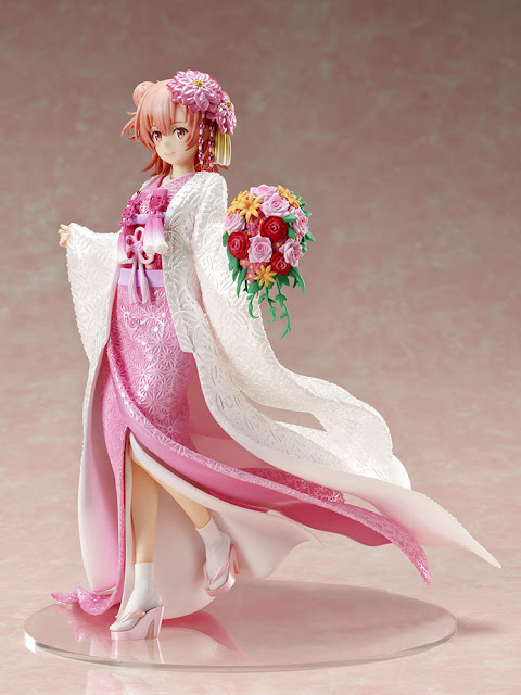 Figuras: Preciosa uigahama Yui -Shiromuku- de Yahari Ore no Seishun Rabu Kome wa Machigatteiru - F:NEX (FuRyu)