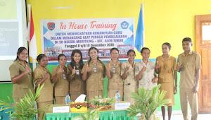 Tingkatkan Kompetensi Guru, SDN Maritaing Lakukan In House Training
