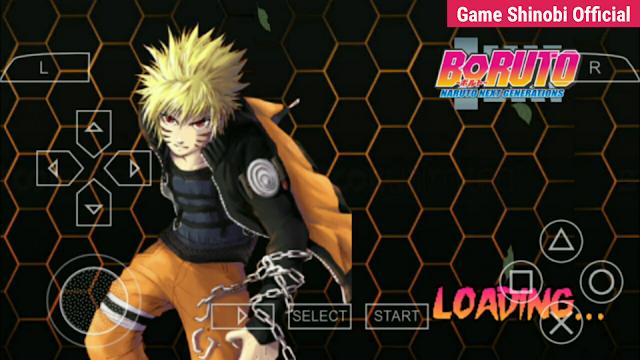 Game Boruto Offline - Boruto: Naruto Next Generation MOD NSUNI ISO PPSSPP di Android