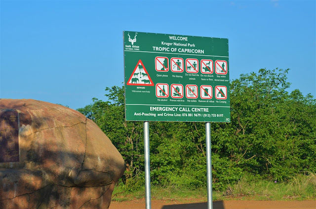 Tropic of Capricorn @SANParksKNP @SANParks #SA #PhotoYatra #TheLifesWayCaptures