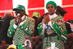 Zimbabwe Chief Accuses Grace Mugabe of Wrongfully Burying Former President, Wants Him Exhumed