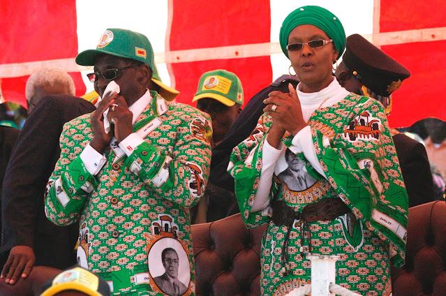 Zimbabwe Chief Accuses Grace Mugabe of Wrongfully Burying Former President, Wants Him Exhumed.lelemuku.com.jpg