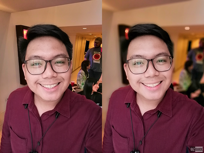 Normal vs Portrait mode