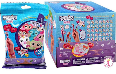 Сюрпризы в пакетиках FingerLings Minis