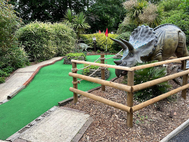 Jurassic Golf at Pettitts Animal Adventure Park in Reedham, Norwich. Photo by Christopher Gottfried, June 2021