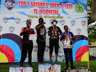 Keren, SAC Kota Bima Kembali Menambah Koleksi Medali di Kejurnas Panahan Lampung