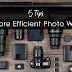 5 Tips for a More Efficient Photo Workflow