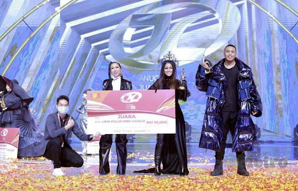 Juara AJL35 Lagu Gila