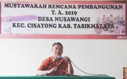 PPK Cisayong Roadshow Sosialisasikan Pemilu 2019