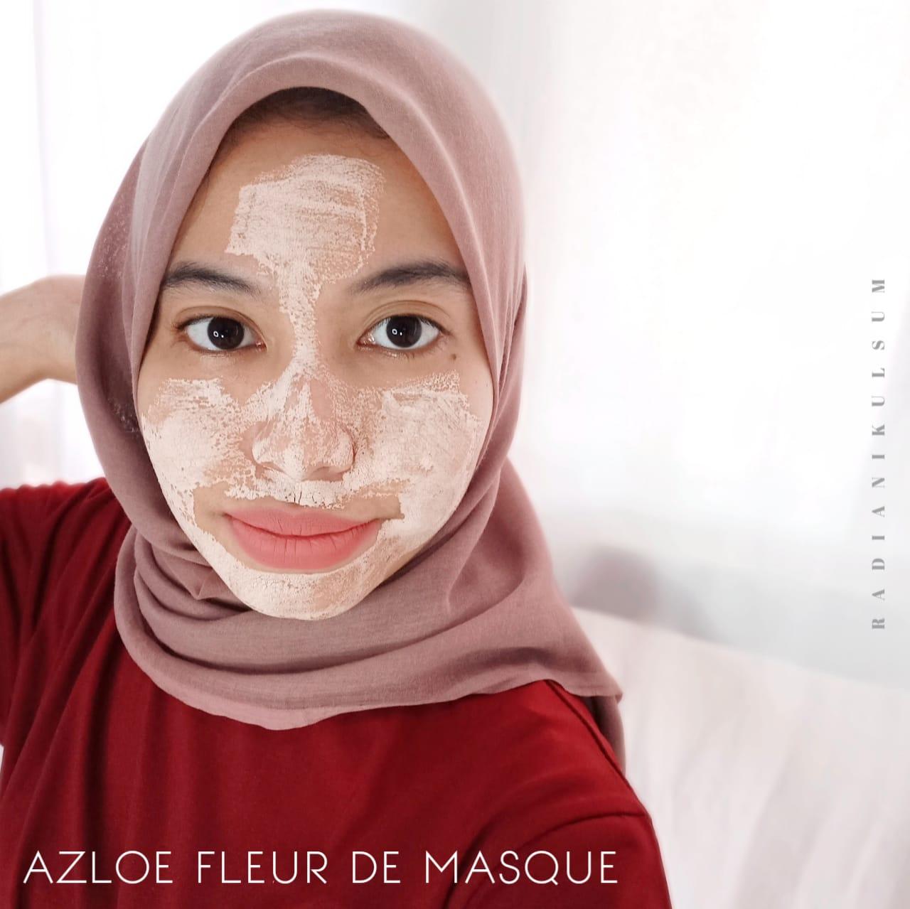 Pemakaian Azloe Fleur de Masque
