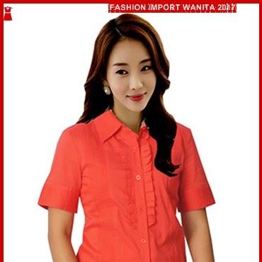 ADR031 Kemeja Merah SSTG Tangan Pendek Import BMG