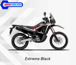 Honda CRF250RALLY Extream black