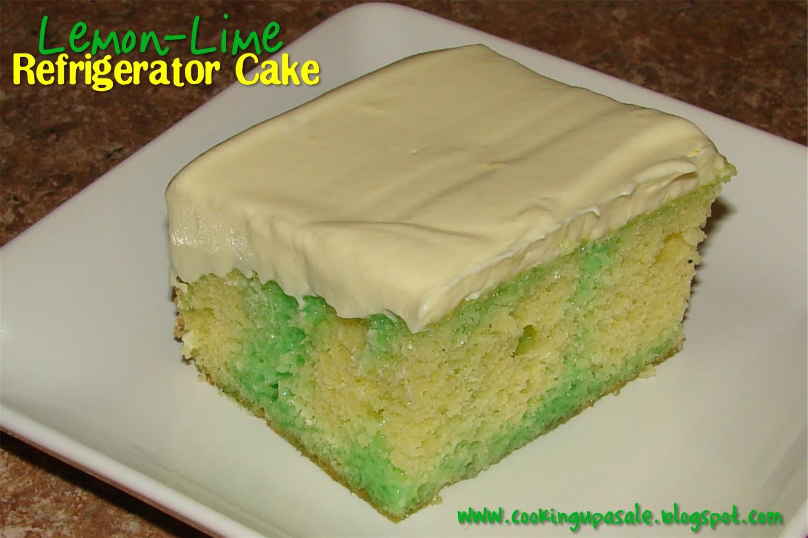 Cake Recipe With Lemon Jello: Lime Jello Dessert