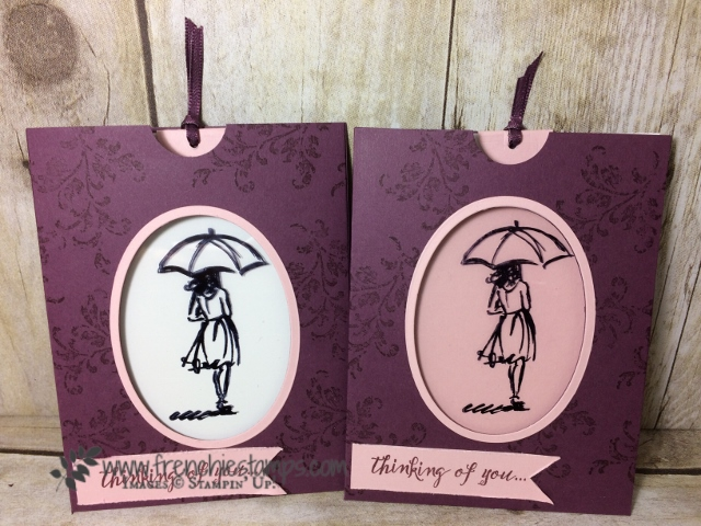 Magic color, Fancy Fold, Beautiful You, Stampin'Up!
