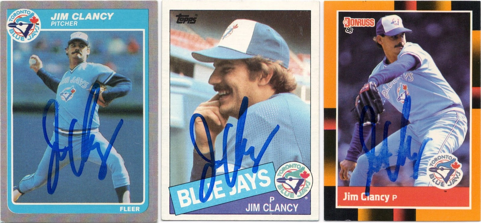 Signed Dc Jim Clancy