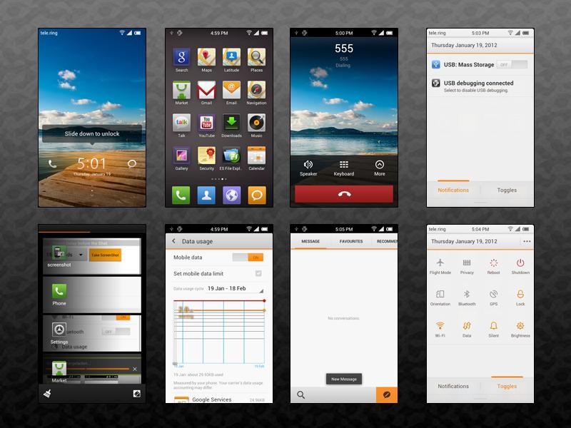 Galaxy Tab P1000 | MIUI V4 | DROIDCELL COM