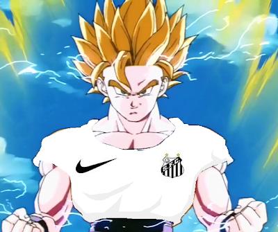 Manolo Santista: Goku santista
