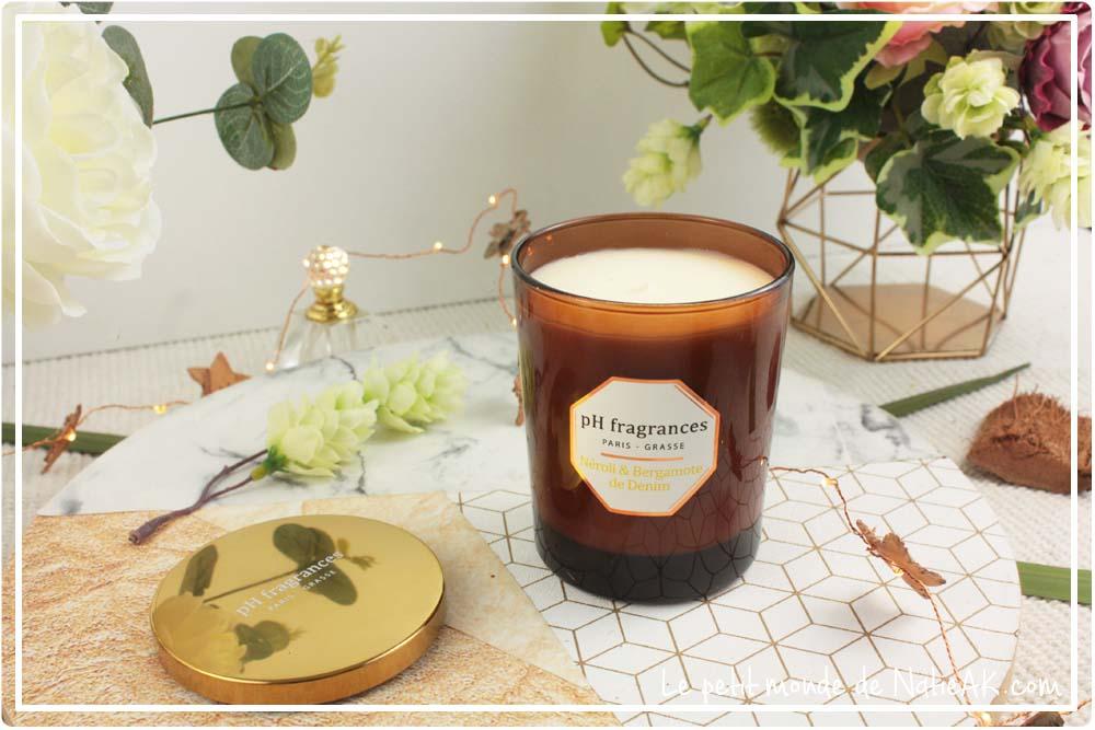 bougies naturelles artisanales