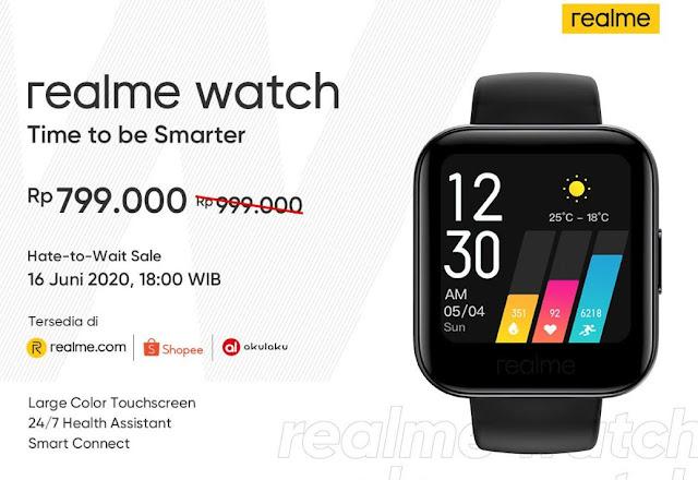 Realme Watch dan Realme Buds Air Neo Meluncur di Indonesia