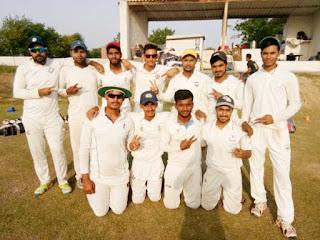 शुभम क्रिकेट अकादमी ने  लखानी अरमान क्रिकेट क्लब को 46 रन से हराया