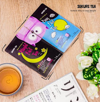 Sekuri Tea Korean 14 Day & Night - Teh Diet Detox Slimming Tea Teatox Pelangsing Bunga Hijau Korea