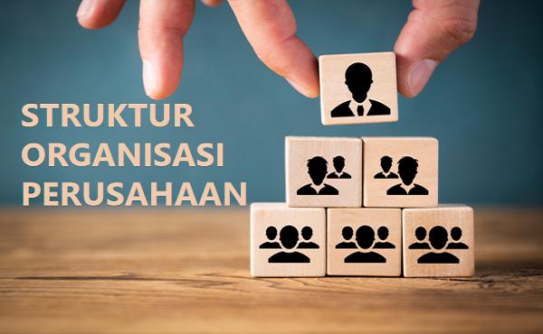 struktur organisasi di perusahaan
