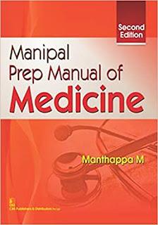 Manipal Prep Manual of Medicine - 2nd Edition pdf free download