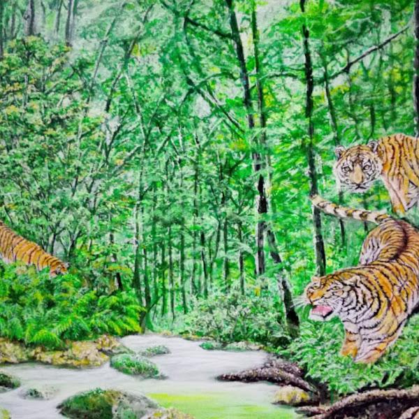 Refresing Otak dan Batin Dengan Lukisan