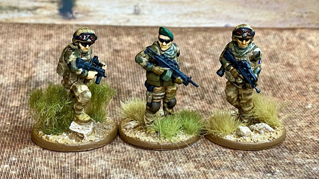 28mm modern French Foreign Legion for Mali and the Sahel from JJG Print 3D