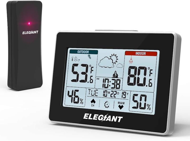 ELEGIANT Wireless Weather Station 30.01% OFF