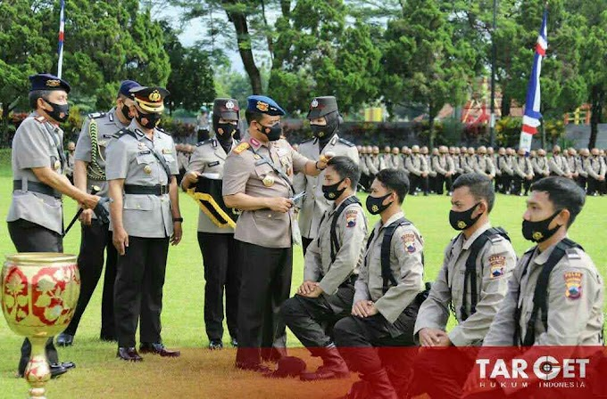 457 Calon Bintara Polda Jateng Siap Jalani Pendidikan Pembentukan Bintara Polri di SPN Polda Jateng Purwokerto